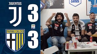 INGENUI... JUVENTUS 3-3 PARMA  REACTION LIVE  | w/FIUSGAMER,OHM ed ENRY LAZZA