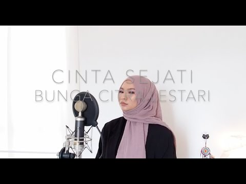 CINTA SEJATI - BUNGA CITRA LESTARI (COVER BY AINA ABDUL)