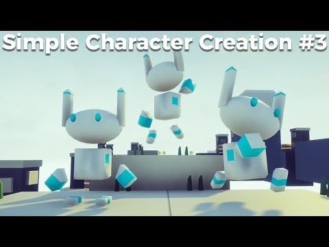 Simple Character Creation #3 - Animation In Blender [Game Jam Tutorial]