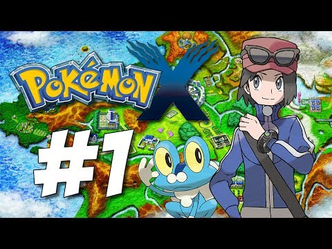 Pokemon X: I Choose You! (Let's Play #1)