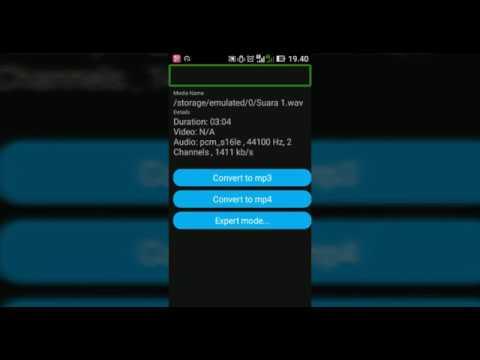 media Converter, aplikasi untuk convert file vidio atau audio di android