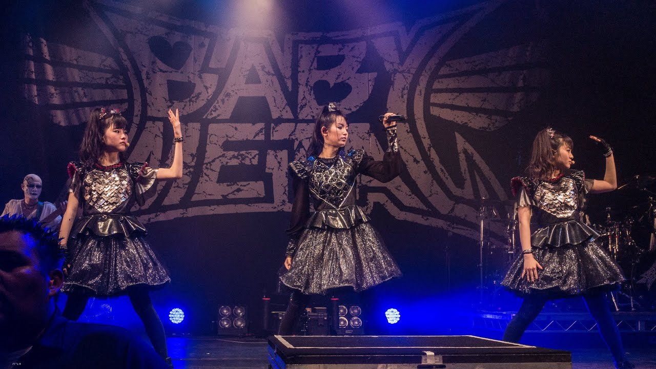 BABYMETAL - From Dusk Till Dawn [Live at The Palladium 6/17/17]