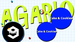 Cake & Cookies!   Agario #4