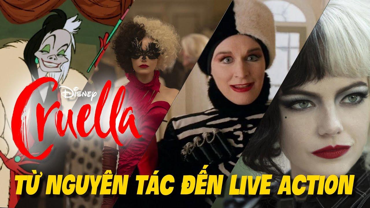 Từ Nguyên Tác Đến Live Action P2: Cruella de Vil -Trùm Phản Diện Nếu Đẹp Có Được Tha Thứ?