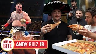 (Andy Ruiz Jr.) Barstool Pizza Review - Manero's Pizza