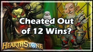 Cheated Out of 12 Wins? - Boomsday / Hearthstone