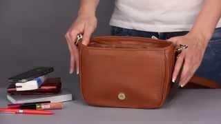 Как выбрать кожаную сумку? Обзор женской сумки Rossatti Eva