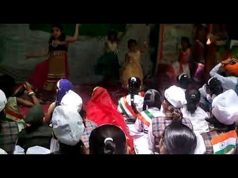 School dance on vande mataram