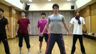 2013 ミスタージャパン ファイナリスト ダンス トレーニング 3.