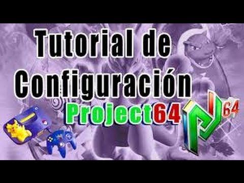 Problemas en project 64 configuracion de plugins youtube