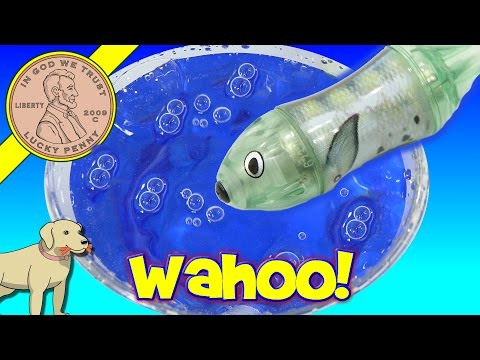 Wahoo HEXBUG Aqua Bot Fish Tank - Swim Little Fishy Swim!