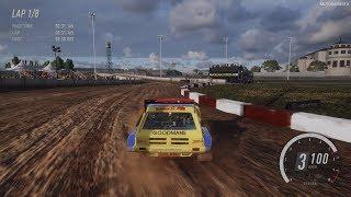 DiRT Rally 2.0 - MG Metro 6R4 Rallycross - Trois-Rivières RX Gameplay [4K 60FPS]