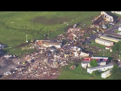 OKC Breaking News - Video Shows 'Path Of Destruction' From Deadly El Reno Tornado