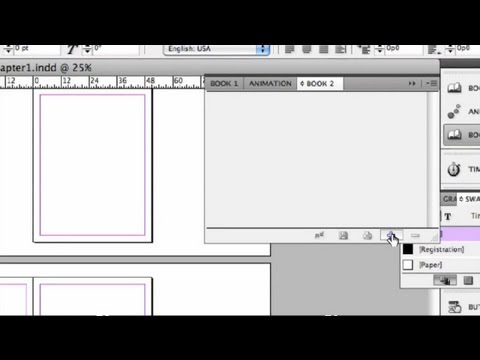 How to Lay Out a Book in InDesign : InDesign Tutorials - YouTube