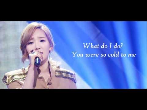 SNSD Taeyeon- Missing you like crazy Eng Lyrics