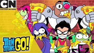 Teen Titans Go! | Pizza Panic | Cartoon Network