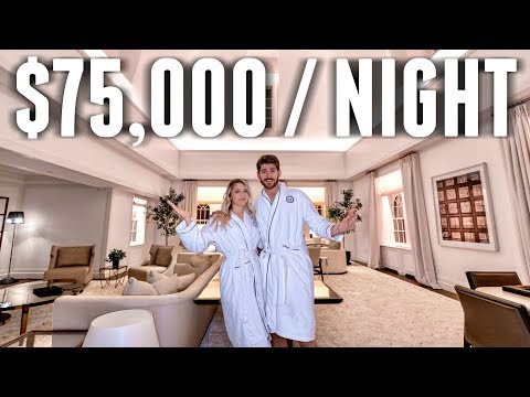 INSIDE a $75,000 per Night NYC Hotel Room