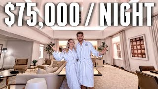 We stayed at THE MOST EXPENSIVE Hotel Room in NYC