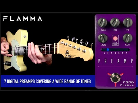 FLAMMA FS06 Digital Preamp