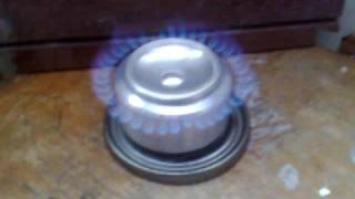 pressurized alcohol stove (made in Colombia) thumbnail