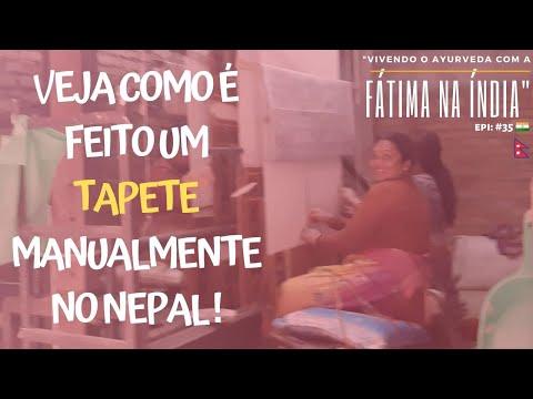 VEJA COMO É FEITO UM TAPETE MANUALMENTE NO NEPAL ! | epi. #35
