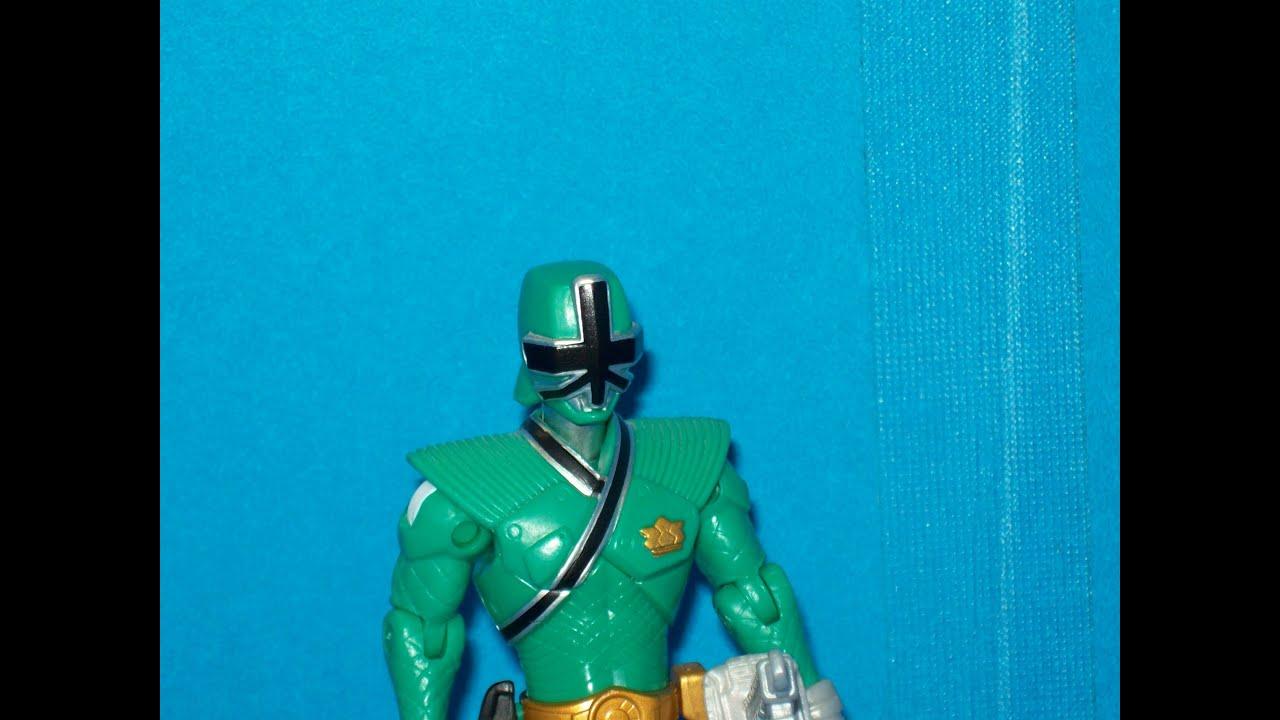 Green Samurai Ranger Actor