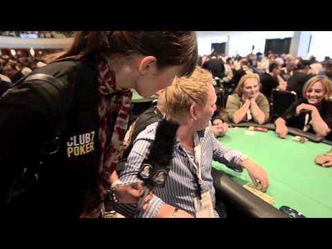 """Theresa von Tiedemann Interview mit Jens Knossalla """"club7poker.de Live Tour - Team Pro"""""""