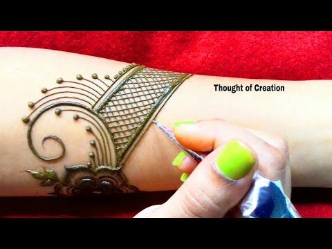 Bridal Mehndi Design Full Hand |Thought of Creation thumbnail