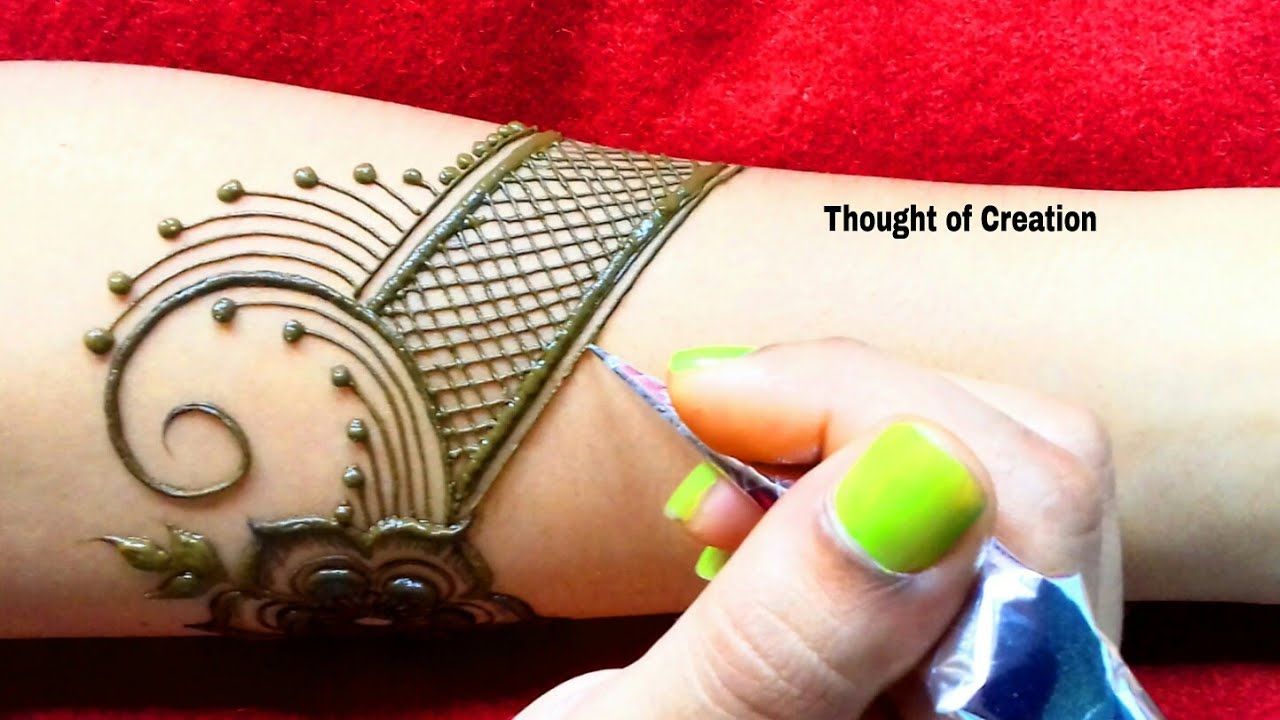 Bridal Mehndi Design Full Hand Thought Of Creation