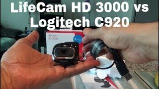 Microsoft LifeCam HD 3000 Webcam Unboxing & Review | How Does It Compare with Logitech C920