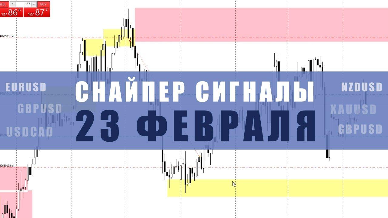 СИГНАЛЫ СНАЙПЕР НА 23 ФЕВРАЛЯ | Трейдер Юрий Антонов