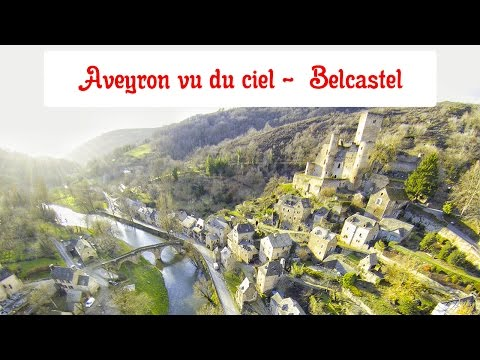 Aveyron vu du ciel - Belcastel - Parrot Bebop 2 Drone - monaveyron.photo