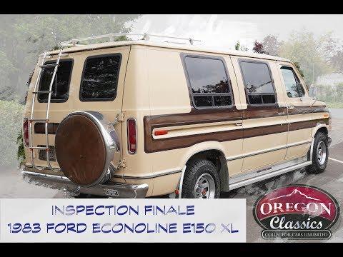 1983 FORD VAN E150XL ECONOLINE - OREGON-CLASSICS