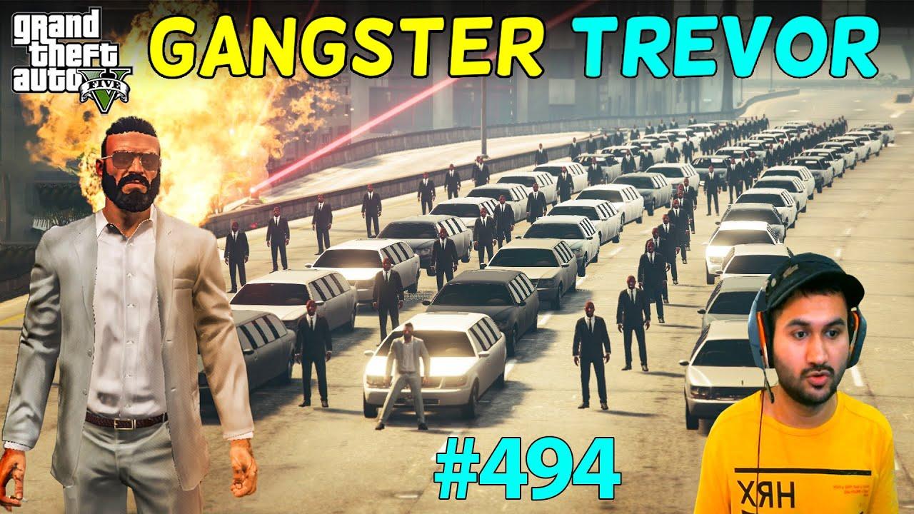 MOST POWERFUL GANGSTER LIFE OF TREVOR BEGINS GTA 5 | GTA5 GAMEPLAY #494