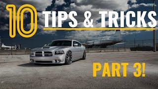 PART 3! - 10 Dodge Charger & Mopar Tips, Tricks, & Hacks - THINGS YOU DIDN'T KNOW