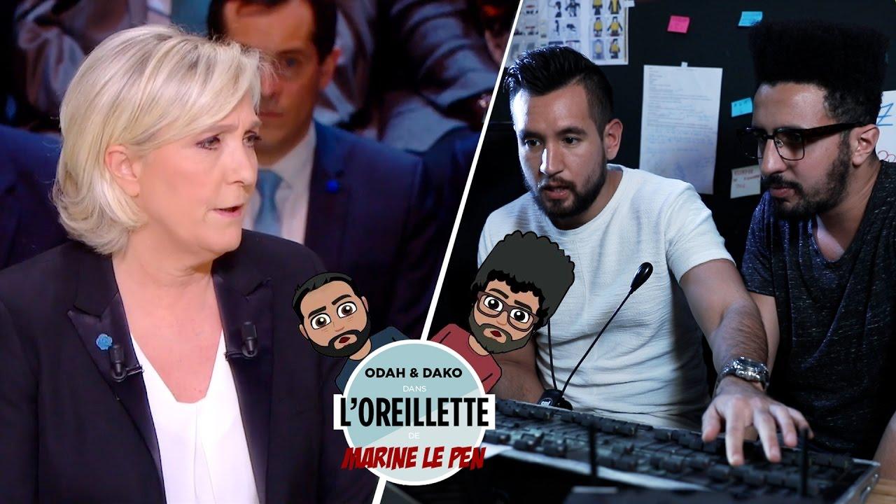Dans l'oreillette de Marine Le Pen