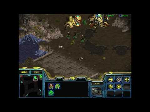 StarCraft Brood War (1.18 - Public Test Realm) 1v1 Connor5620 (P) vs weiwei2929 (Z)