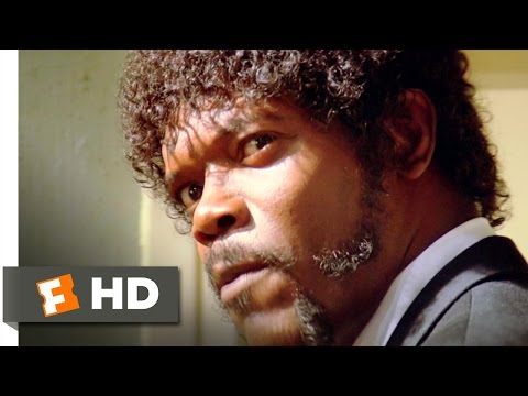Ezekiel 25:17 - Pulp Fiction (3/12) Movie CLIP (1994) HD