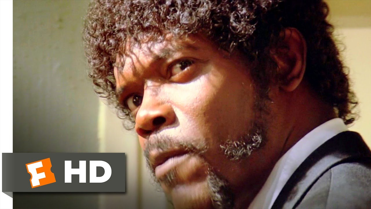 Bible Verse And Image Pulp Fiction Wallpaper: Pulp Fiction (3/12) Movie CLIP (1994) HD