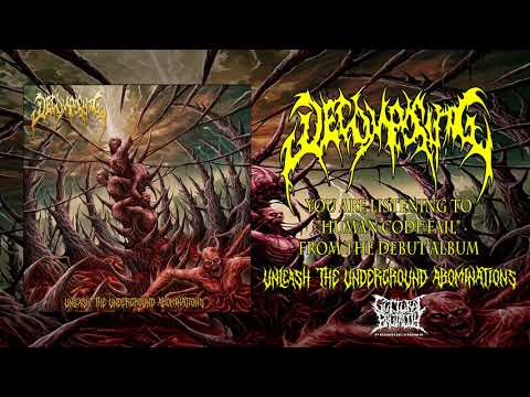 Decomposing - Human Code Fail (2018) GUTTURAL BRUTALITY PRODUCTIONS