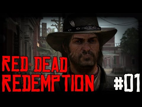 """RED DEAD REDEMPTION Ep 01 - """"Day One...Shot In The GUT!!!"""" (Gameplay Walkthrough)"""
