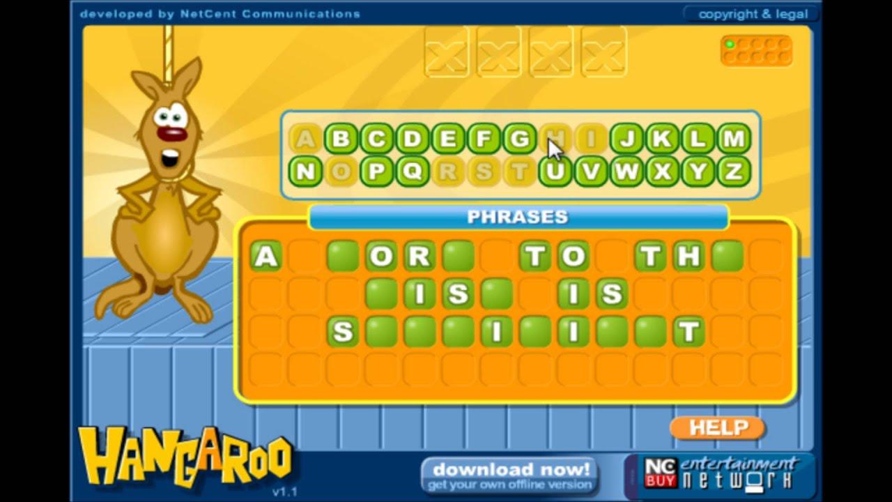 Hangaroo - Play Game Online