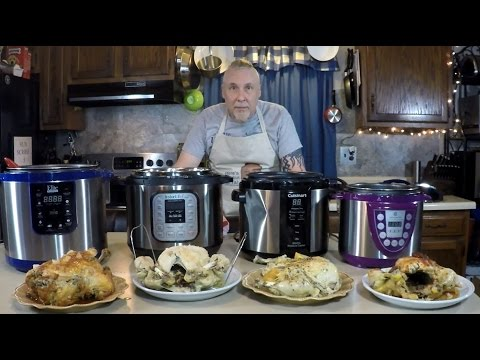 4 Pressure Cooker Chickens Reviewing 4 Pressure Cookers