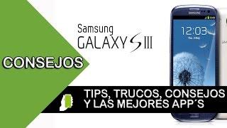Samsung Galaxy S3 tips  y trucos para android (aumenta velocidad, rendimiento y batería)  Parte #2