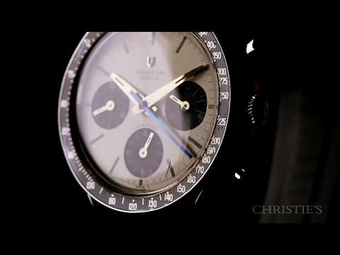 Christie's Watch Shop: Universal Genève Compax, Ref. 885103-02