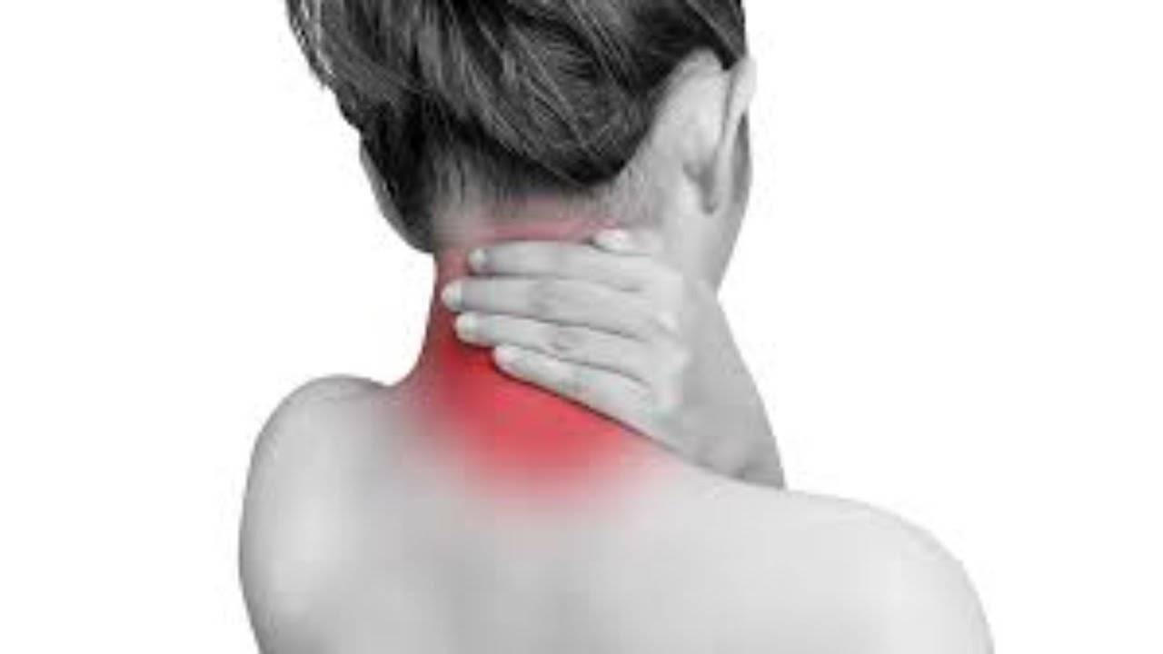 Acupressure point for neck pain/stiffness - YouTube