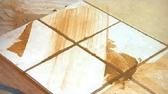 How to Remove Grout From Textured Tile : Grout Maintenance
