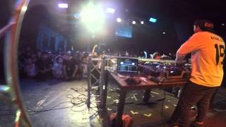 DJ Bomb Cat Performing in Dallas, TX before DJ Blend