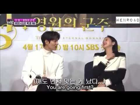 The king : eternal monarch • interview • lee min-ho and kim go-eun