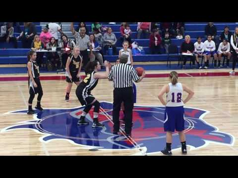Eastbrook Middle School vs Bagley Basketball Game Juanuary 23 2017